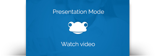 Link to the Presentation Mode video