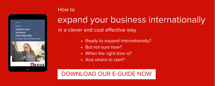 Expand your business internationally