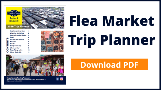 Download PDF of Flea Market Trip Planner