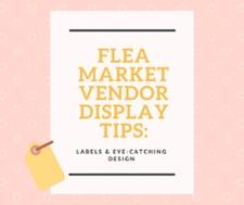 Shipshewana Flea Market Booth Display Ideas