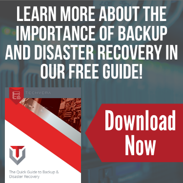 Backup and Disaster Recovery Guide