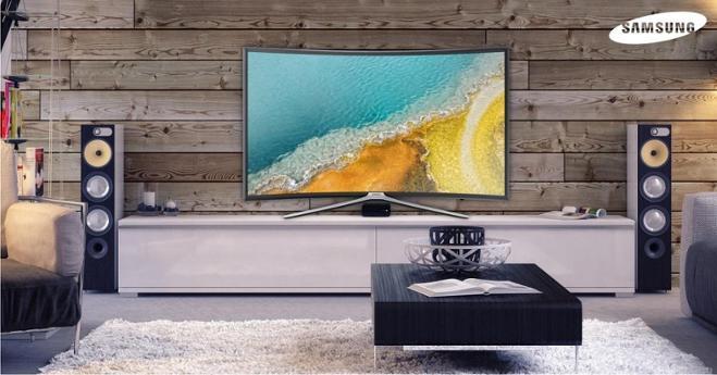 Samsung 55 инч Curved | Smart | Full HD LED Телевизор зурагт Модель: 55K6500