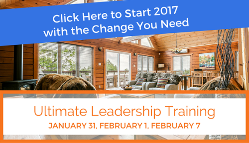 Attend our Ultimate Leadership Training starting January 31!