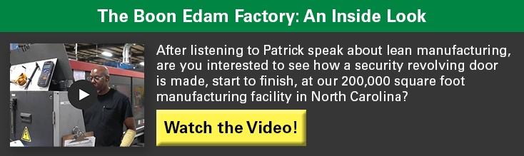 The Boon Edam Factory Video: An Inside Look