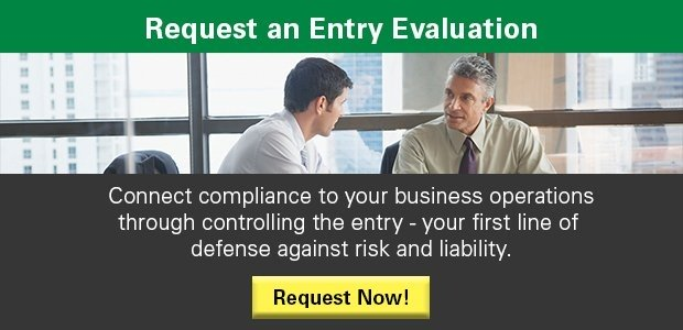 Request a Free On-Site Entry Assessment