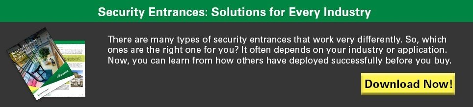 Security Entrances: A Solution for Every Industry