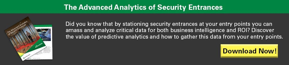 The Advanced Analytics of Security Entrances
