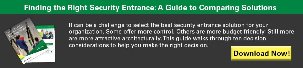 Finding the Right Security Entrance: A Guide to Comparing Solutions