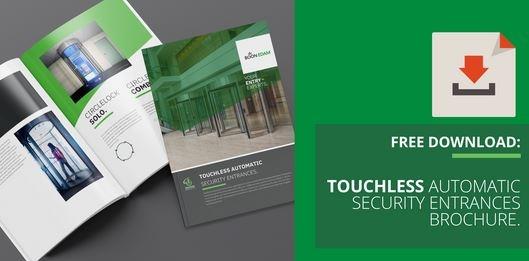 Touchless Automatic Security Entrances Brochure