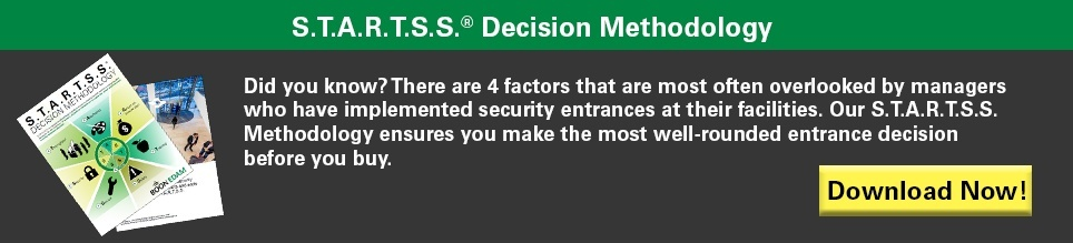 STARTSS Decision Methodology for making the most well-rounded security entrance decision