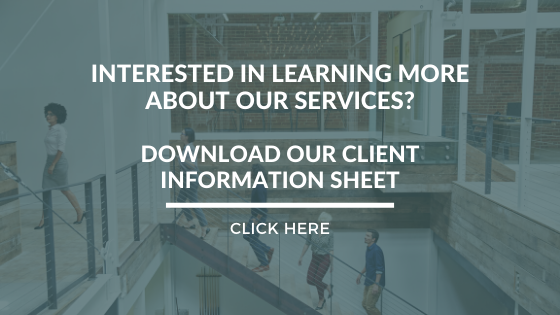 Download Our Client Information Sheet