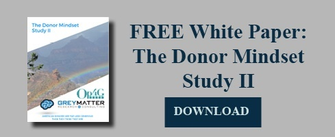 The donor mindset study II