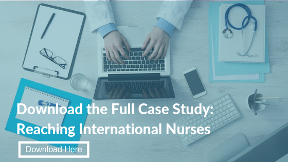 Reaching International Nurses case study data collection quantitative research