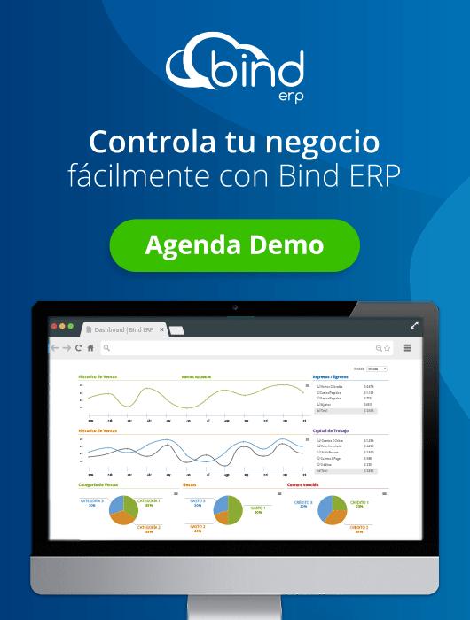 Controla y crece tu negocio con Bind ERP