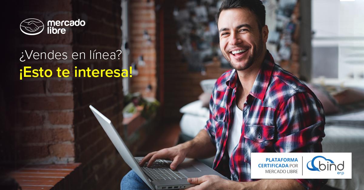 Vender en línea es más fácil con Mercado Libre y Bind ERP