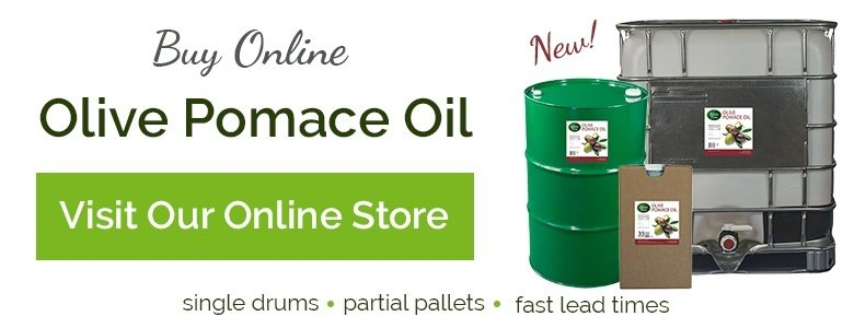 Olive Pomace Oil - Buy Online from Centra Foods in Bulk