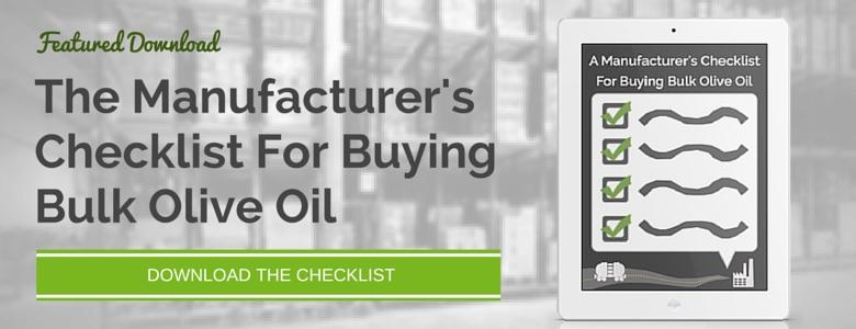Download - The Manufacturer's Checklist For Buying Olive Oil