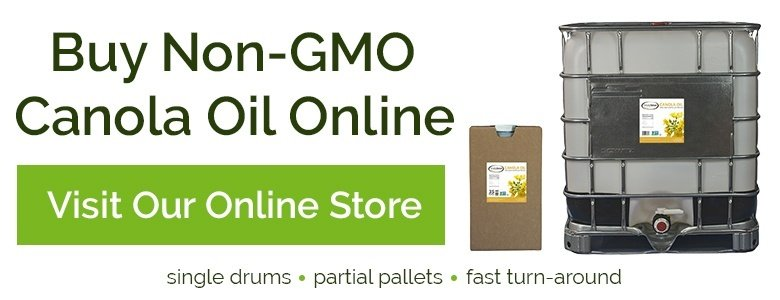 Buy Non-GMO Project Verified Canola Oil - Bulk Online from Centra Foods