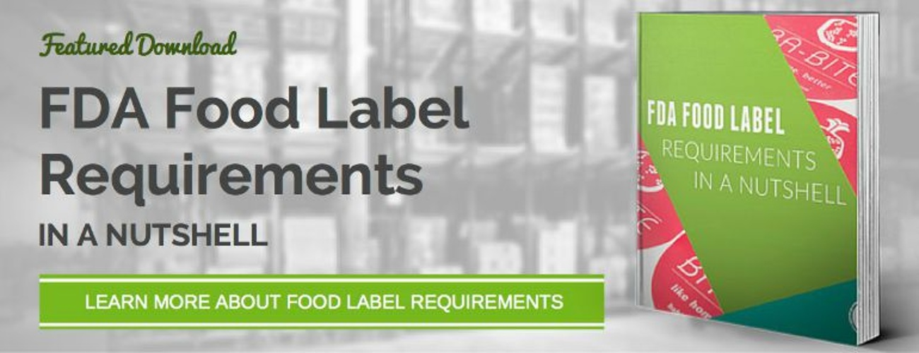 FDA Food Label Requirements - Download eBook