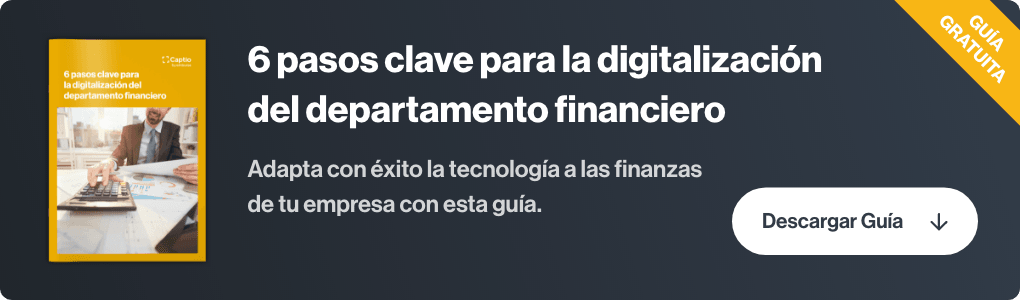 digitalizacion departamento financiero