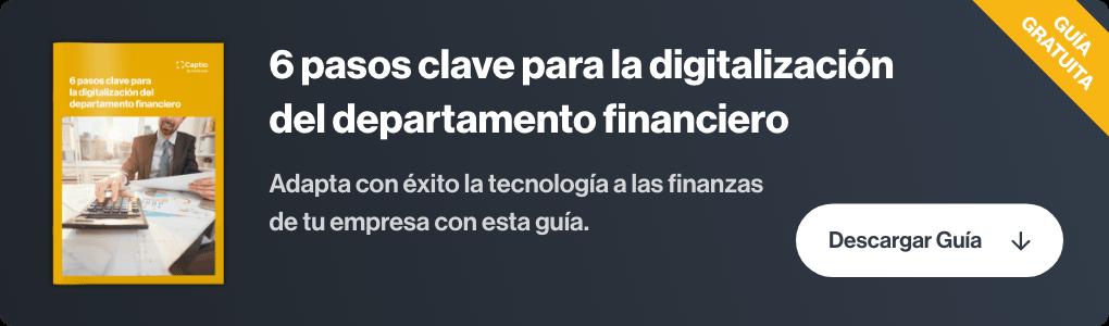 digitalizacion departamento financiero