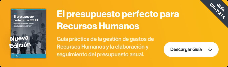 el presupuesto perfecto de recursos humanos