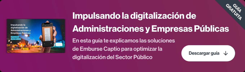 digitalizacion administracion publica