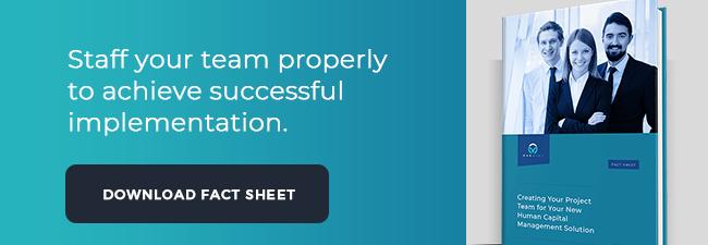hcm implementation fact sheet