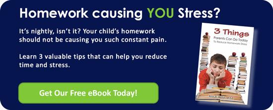 Homework causing YOU stress?