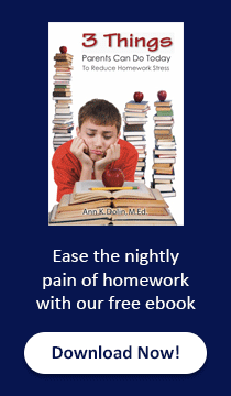 Ease the nightly pain of homework - free ebook