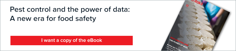 pest control and the power of data: A new era for food safety ebook