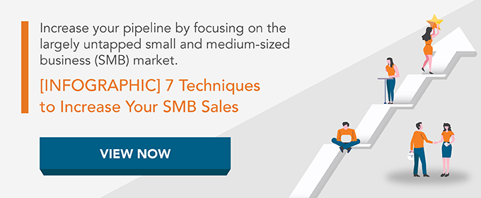 Infographic: 7 Techniques to Increase Your SMB Sales