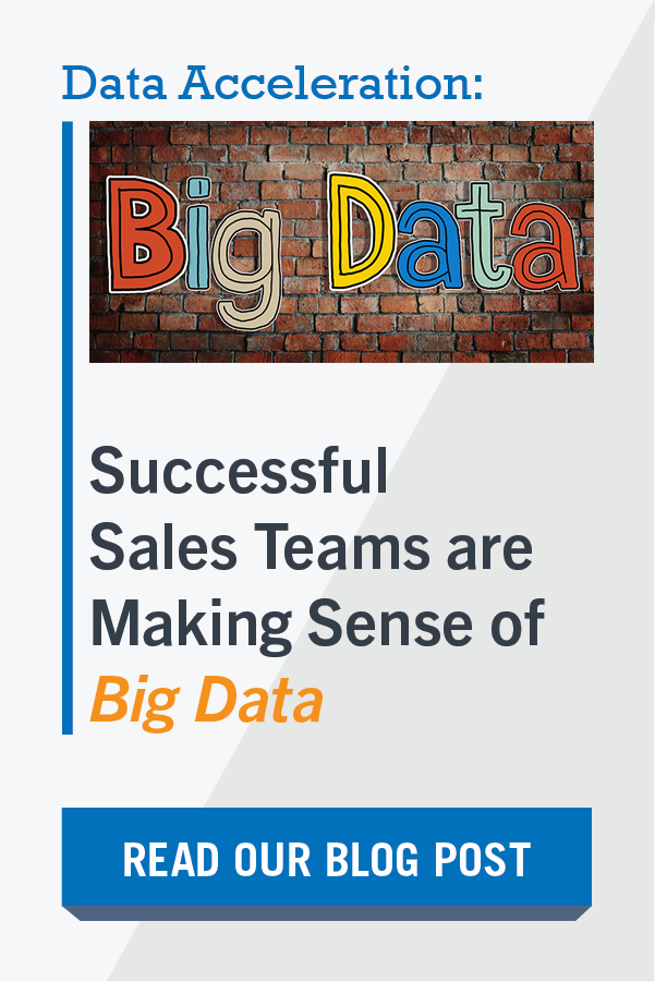 Big Data Sales Data Acceleration