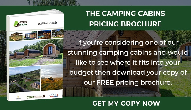 Camping Cabins Pricing Brochure - Large