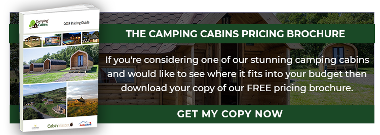 Camping Cabins Pricing Brochure - Long