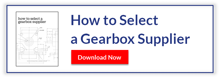 How to Select a Gearbox Supplier