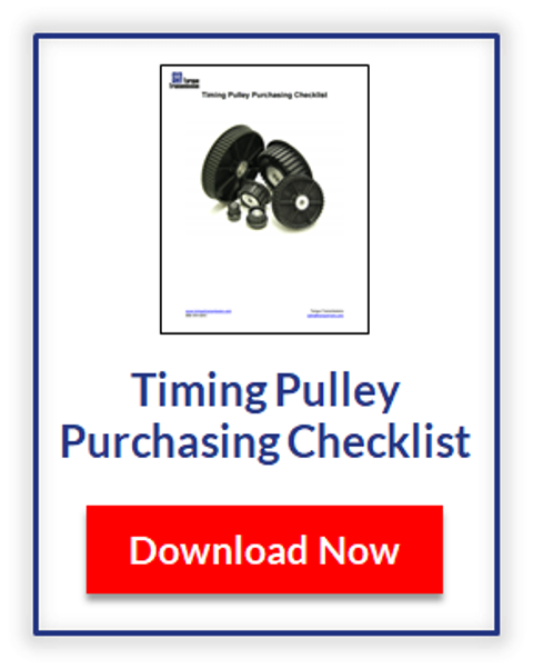 Downlload the Multi-Ribbed Pulley Purchasing Checklist