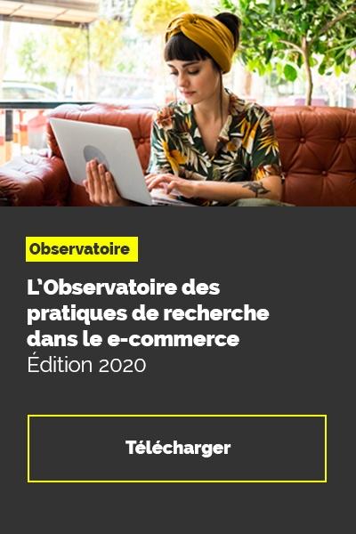 Observatoire des pratiques de recherche dans l'e-commerce 2020