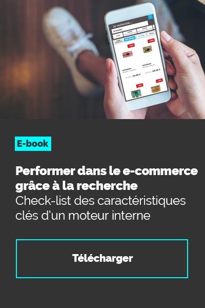 e-book : Performer dans  le e-commerce grâce à la recherche
