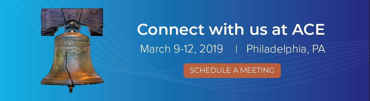 Connect with us at ACE