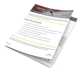 Download Our Estate Planning Meeting Workbook