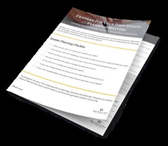 Download Our Estate Planning Meeting Workbook