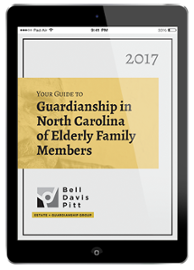 Guardianship in NC of Elderly Family Members
