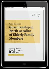 Guardianship in NC of Elderly Family Members