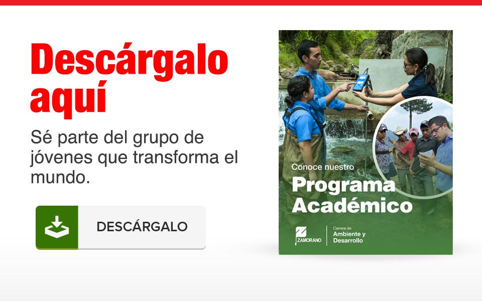 Conoce nuestro programa académico de Ambiente y Desarrollo