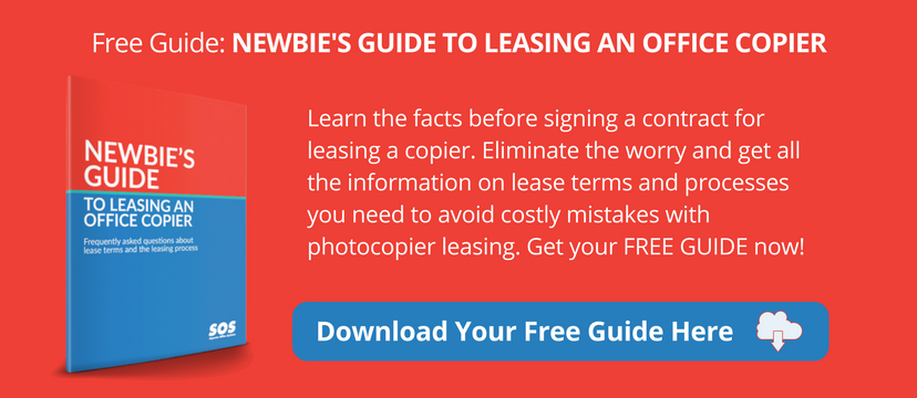 Newbie's Guide to Leasing an Office Copier