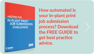 How automated is your In-plant print job submission process? Download the Free Guide to get best practice advice.