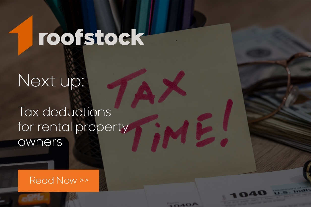 Roofstock tax deductions for rental property owners