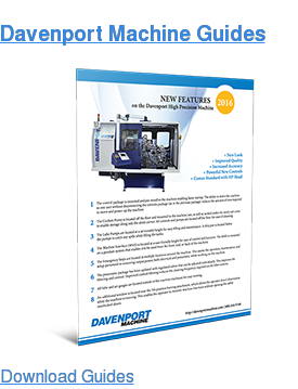 Davenport Machine Guides Download Guides