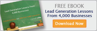 Free ebook. Lead generation lessons from 4,000 businesses. Download now